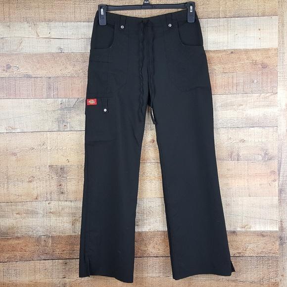 9f9a187313c58 Dickies Scrub Pants Women's Size XS Black W13